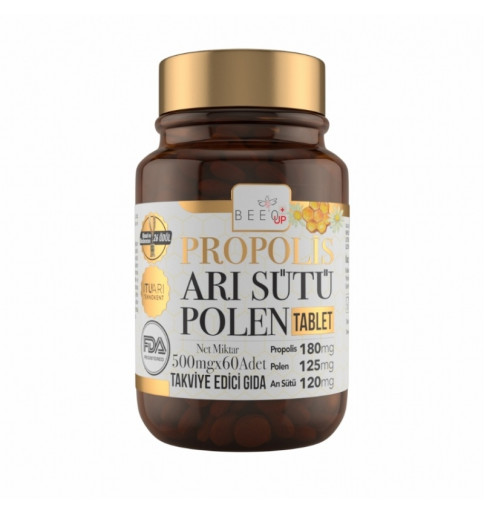 Beeo Up Propolis Arı Sütü Polen Tablet